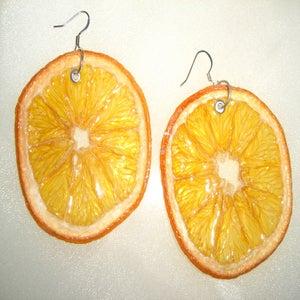 Image of REAL FRUIT EARRINGS