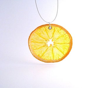 Image of REAL FRUIT NECKLACE