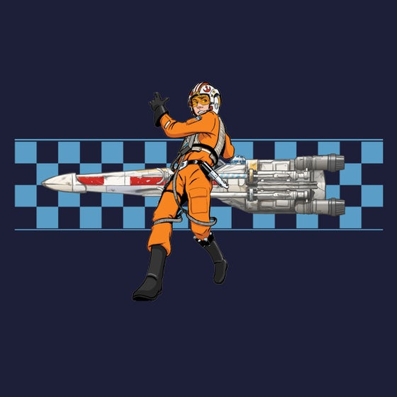 Image of Luke Racer Tee