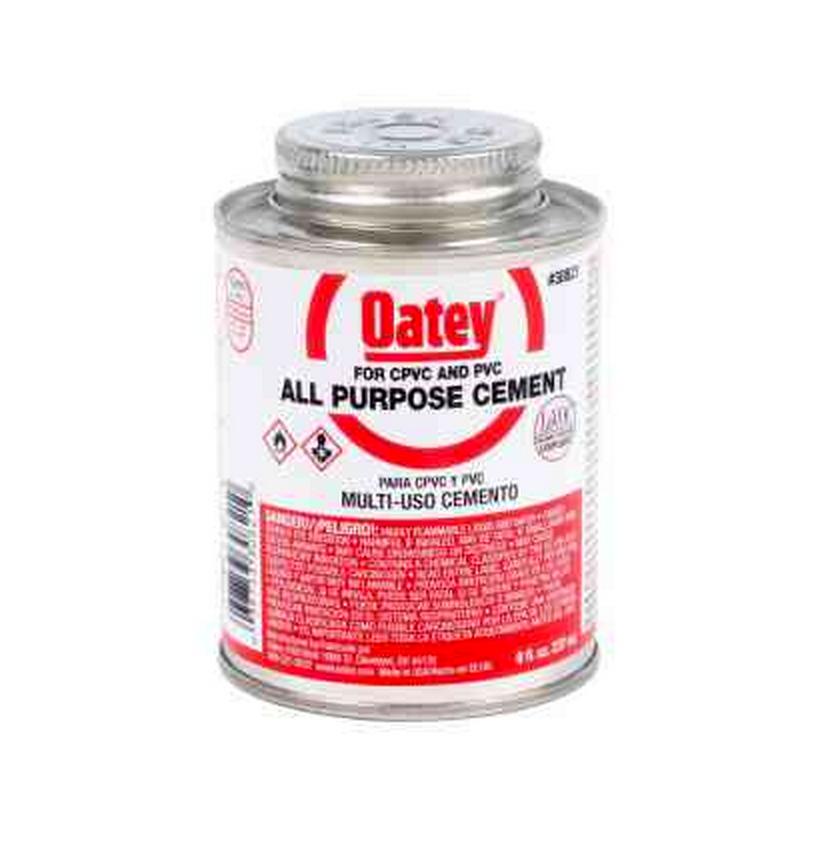 Image of 8 oz. PVC All-Purpose Cement