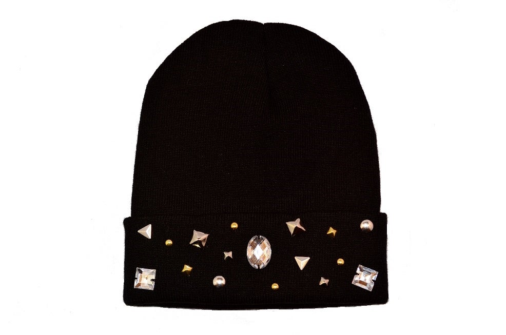Image of Rockstar Mixed Studs Beanie