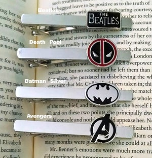 Image of Super Hero Geekery Tie Clips, 24 styles
