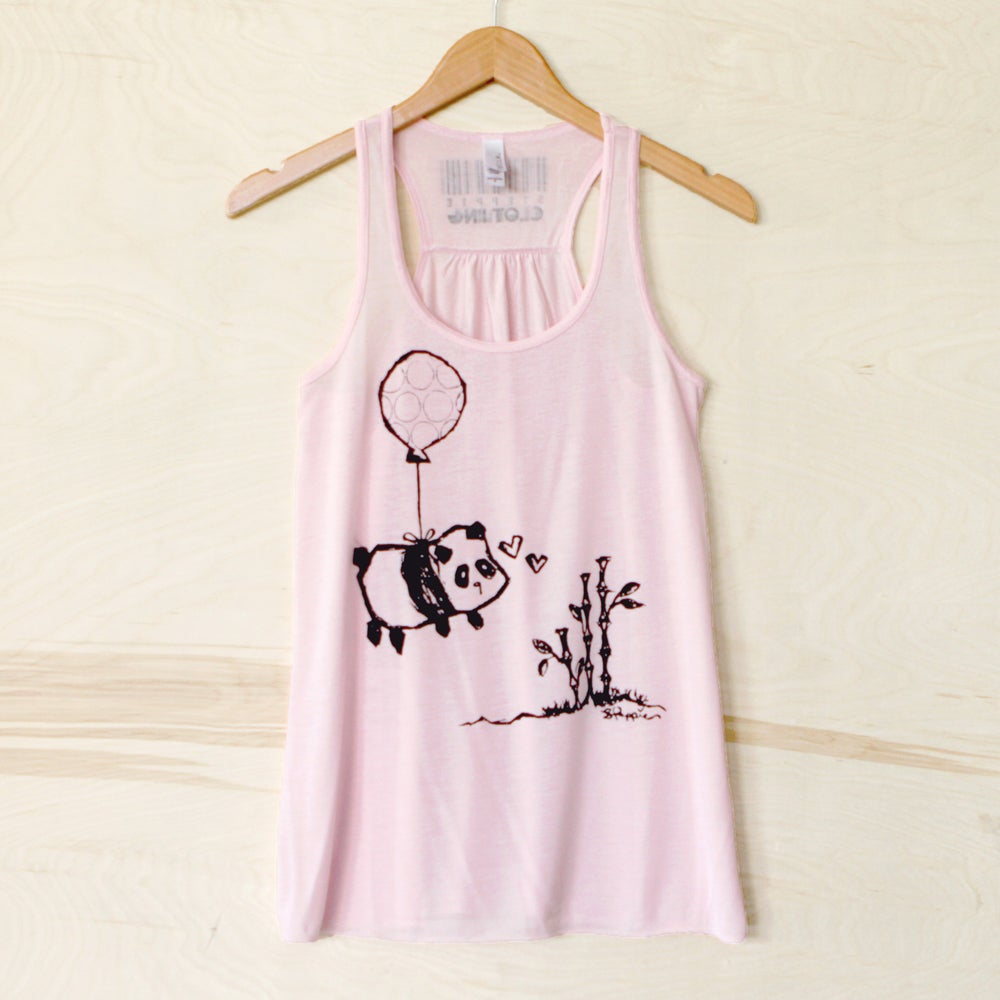 "Image of ""Flying Panda"" Racerback Tank"