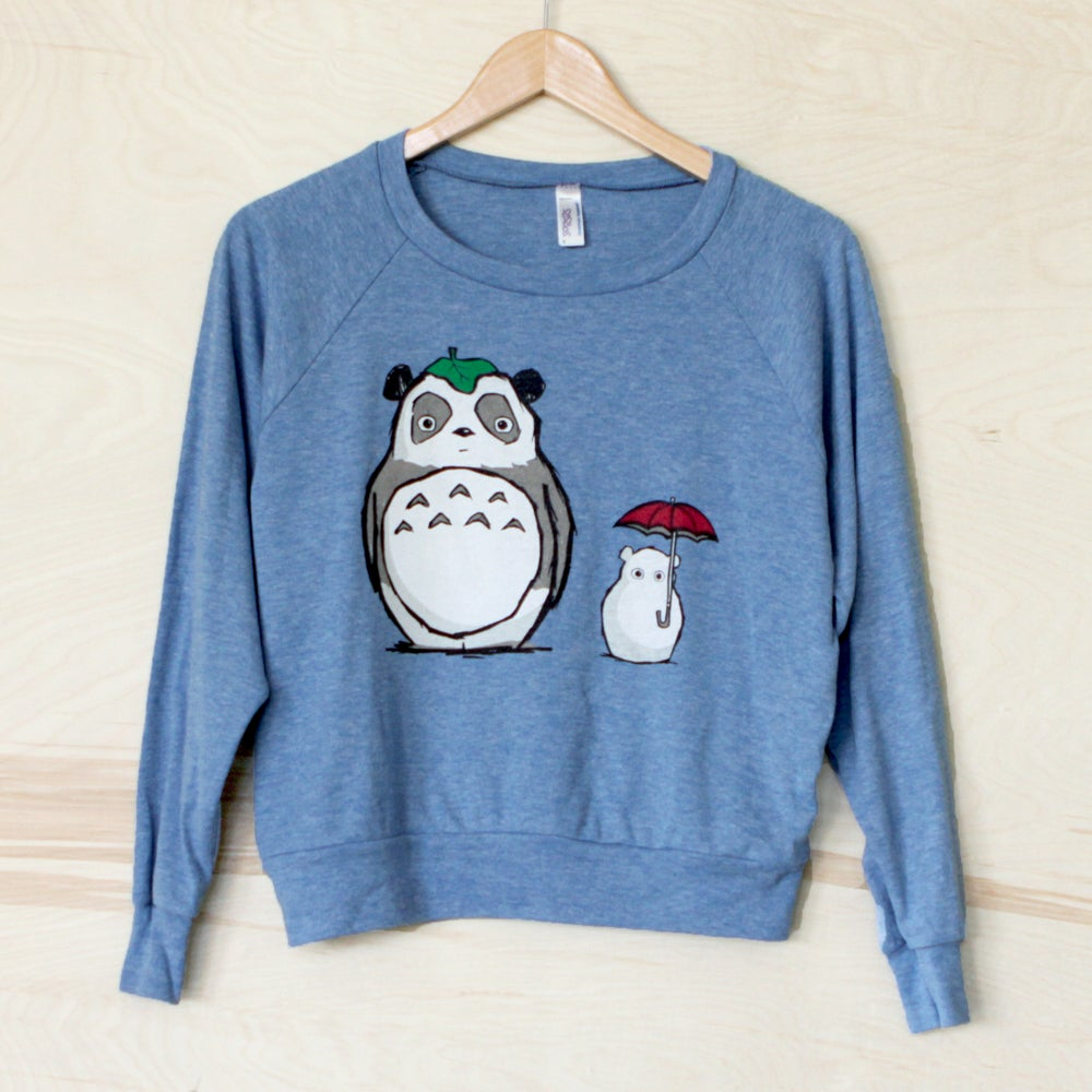"Image of ""Totoro Panda"" Raglan Sweater"