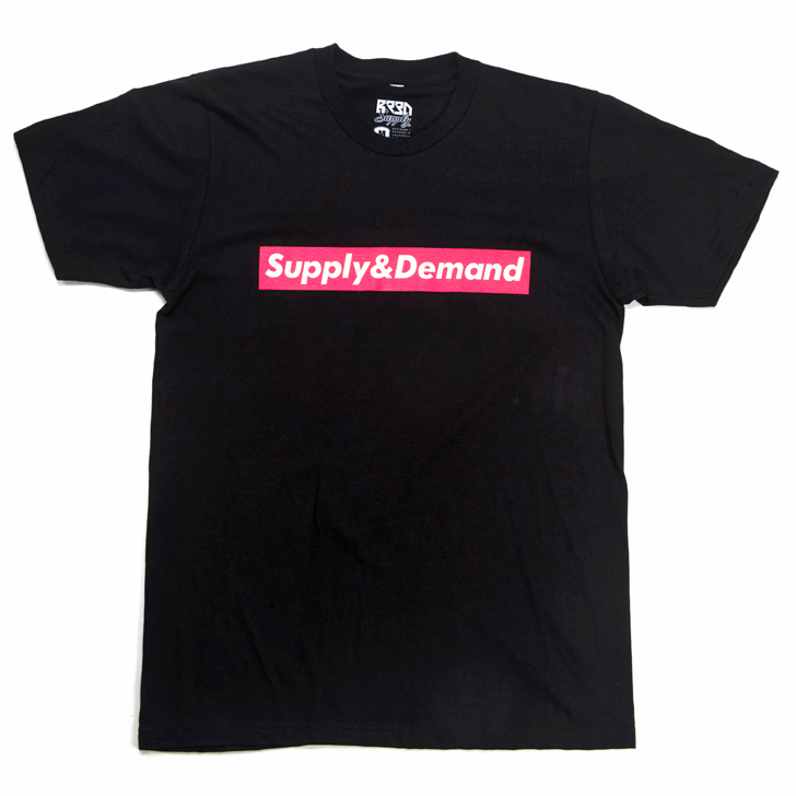 "Image of Infrared ""Supply & Demand"" T - Black"