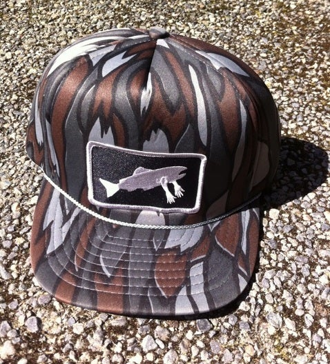 Image of Stealth Society X Salmon Arms CohoLab Hat Tree Camo