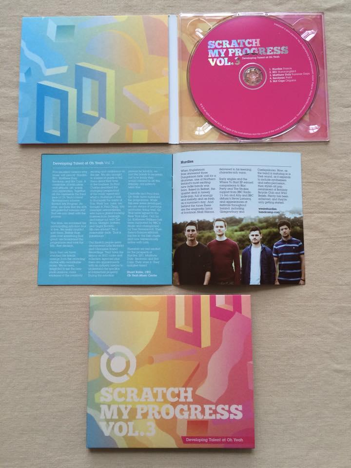 Image of Scratch My Progress CD