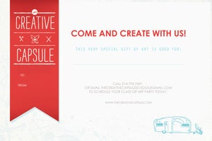 Image of The Creative Capsule Gift Card