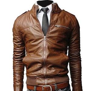 Image of Leather Rider Jacket