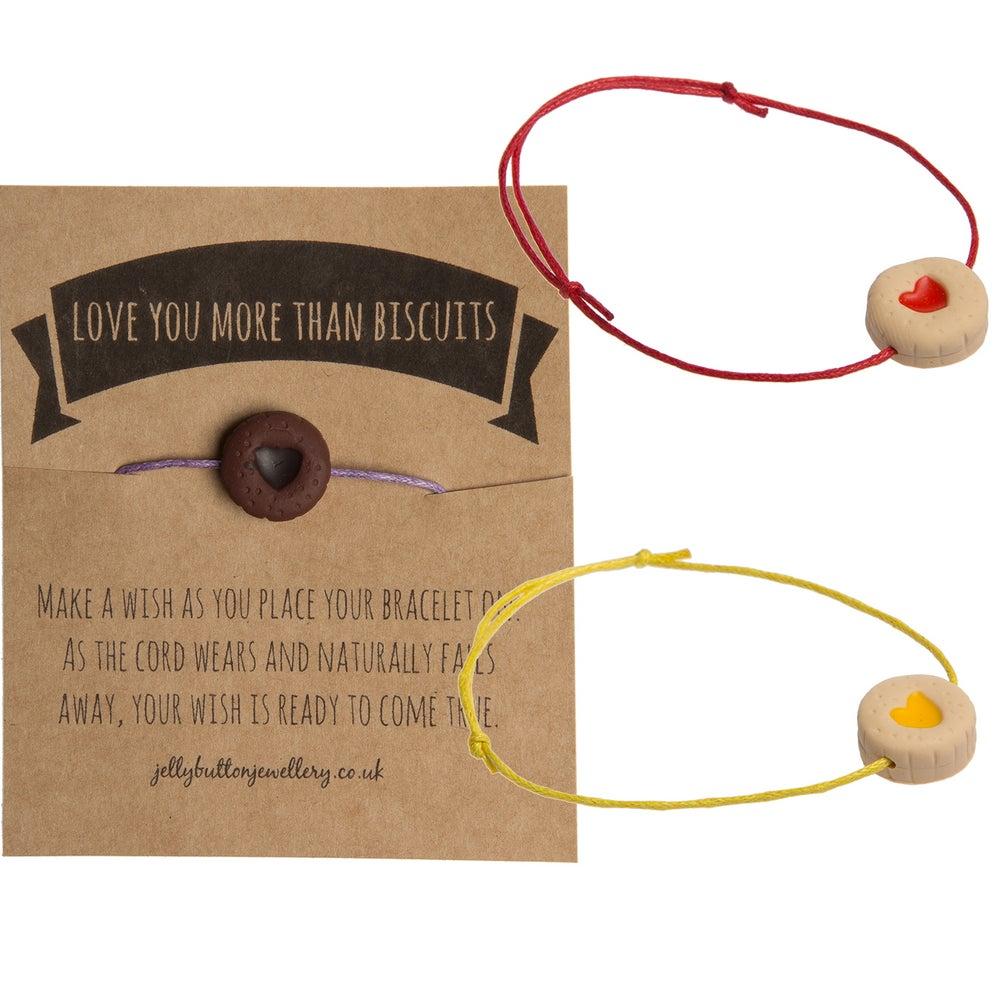 Image of Mini Jammy Biscuit Bracelet