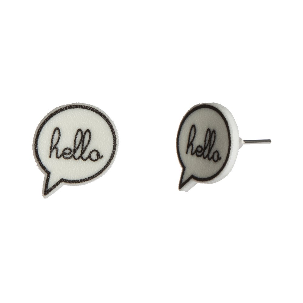 Image of Hello Earrings
