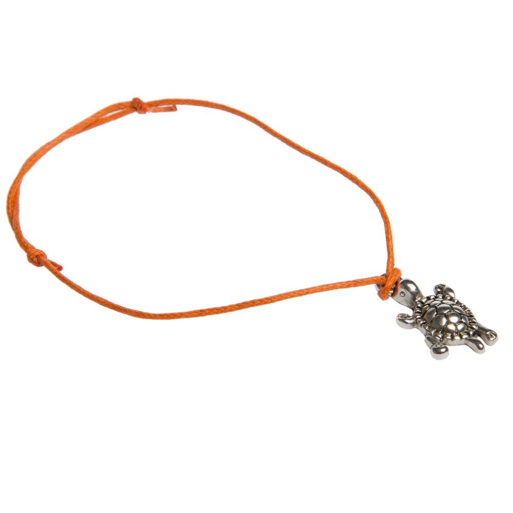 Image of Turtle Adjustable Cord Bracelet