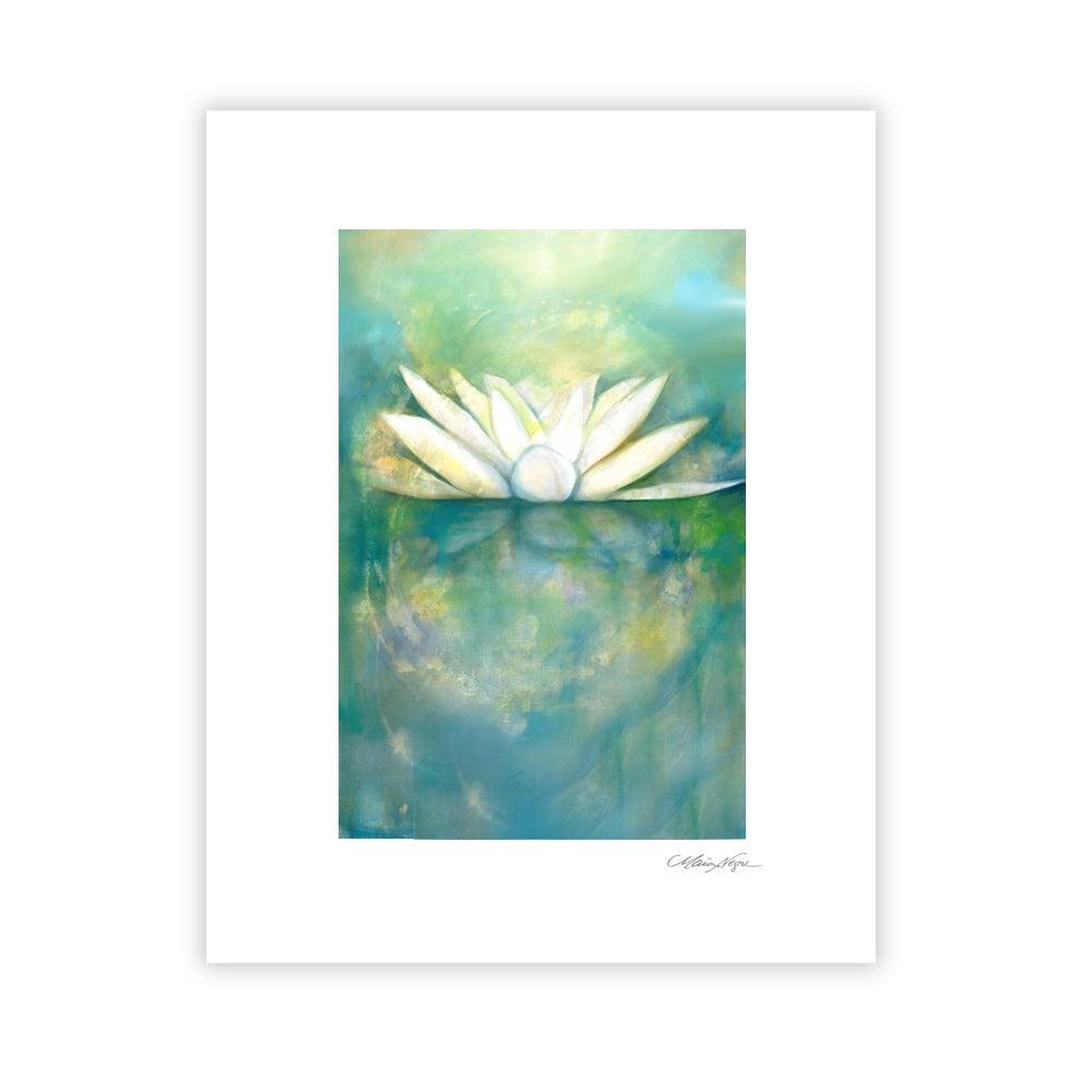 Image of Lotus, Archival Paper Print