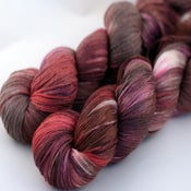 Image of Chocolate & Roses - Merino/Silk Sock Yarn