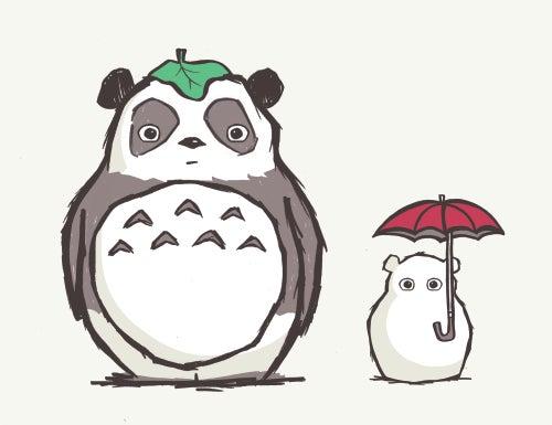 "Image of ""Totoro Panda"" Unisex Tee"