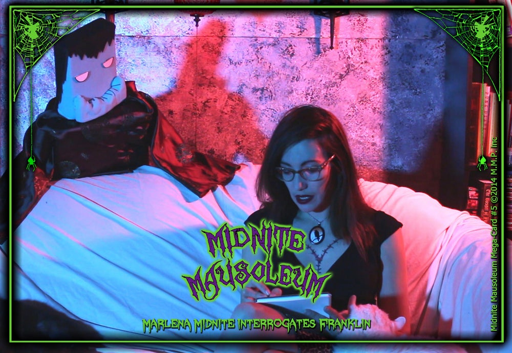 Image of *NEW* MIDNITE MAUSOLEUM TV Collection #5 DVD