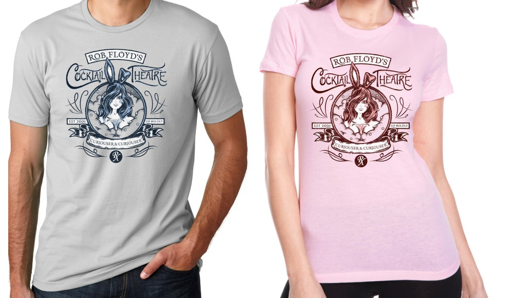 Image of Cocktail Theater Bunny T-Shirt