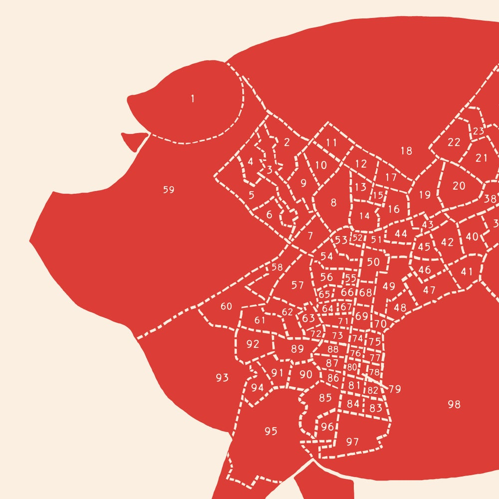 Image of It's Always Meaty in Philadelphia  - Neighborhood Meat Map