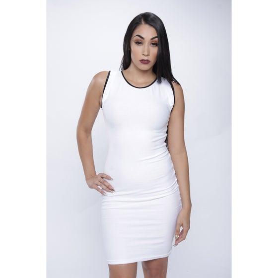 Image of White Tank Dress