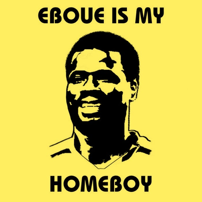 Image of EBOUE IS MY HOMEBOY (gold)