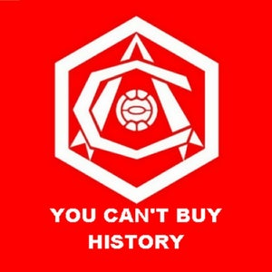 Image of CAN'T BUY HISTORY (red)