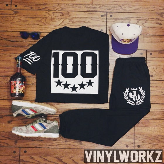 Image of Vinylworkz x Keep it 100 tee