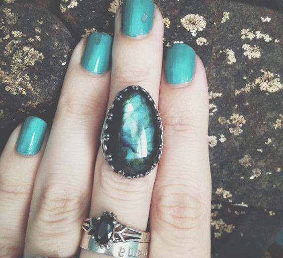 Image of Labradorite Ring 6