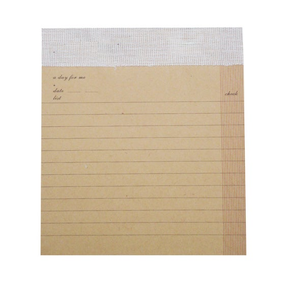 Image of Kraft Lined Desk Pad