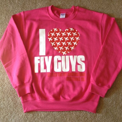 Image of Pink I Love FLY GUYS Sweatshirt
