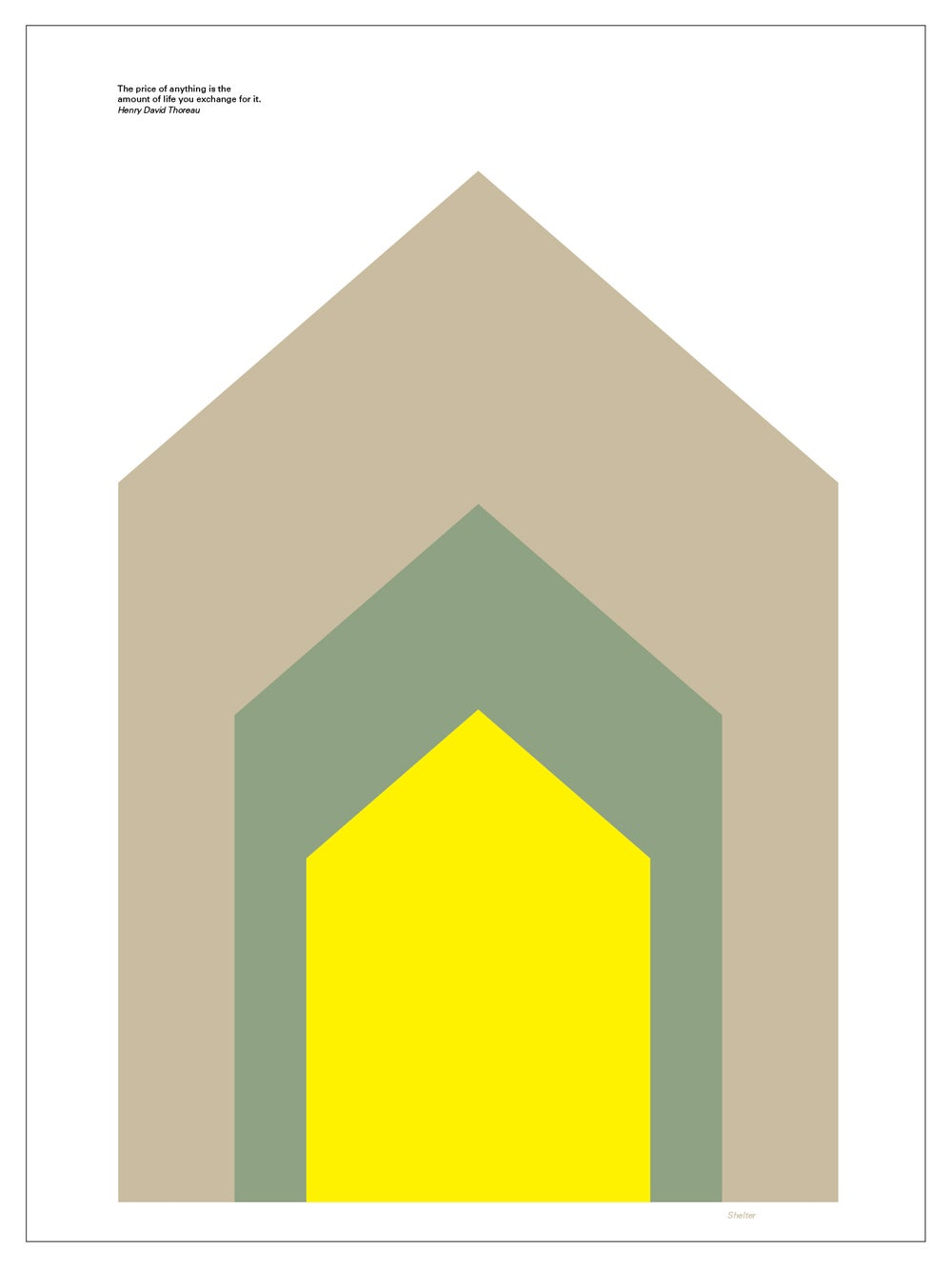 Image of Shelter Poster