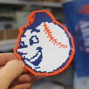 Image of DECAL: Emoji Mr. Met