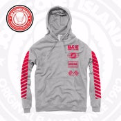 Image of JCI Sport Grey/Red Hoodie