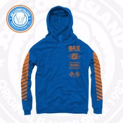 Image of JCI Sport Royal/Orange (Knicks) Hoodie