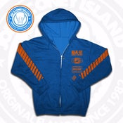 Image of JCI Sport Royal/Orange (Knicks) Zip Hoodie