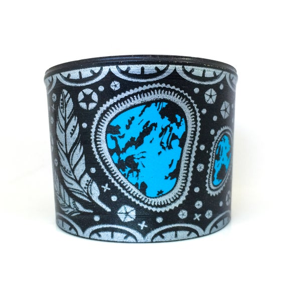 Image of Turquoise and Silver Cuff