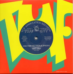 "Image of One For The Treble (Fresh) / The DMX Will Rock - 7"" Vinyl"