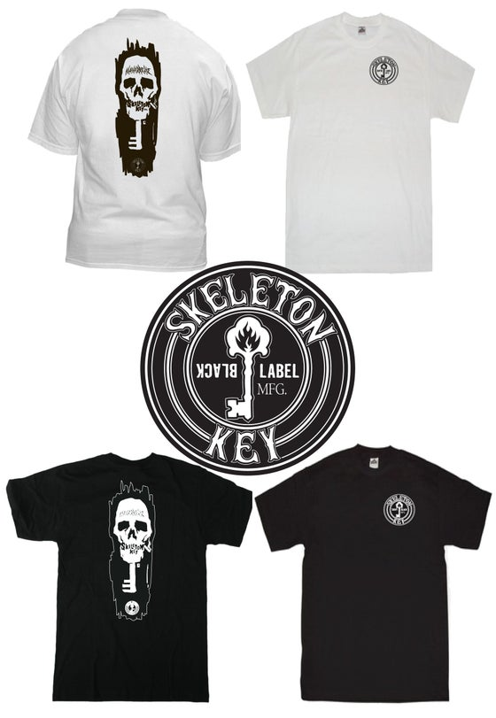 Image of Skeleton Key Mfg. / Black Label New Wave Acknowledgment Tee