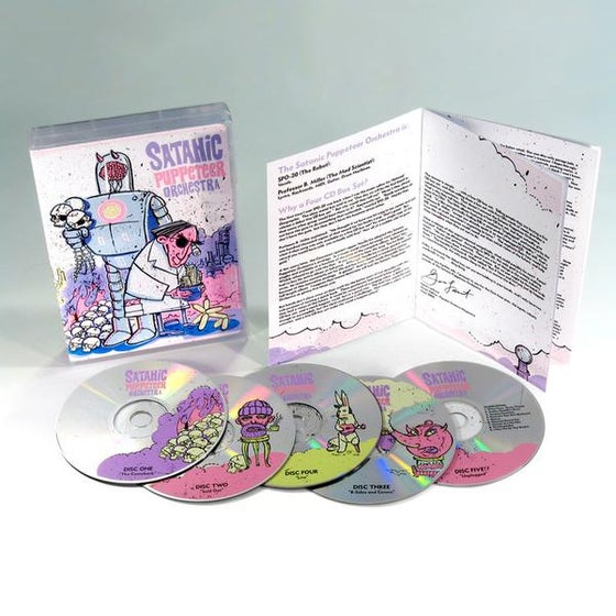 Image of Debut 4 CD Box Set