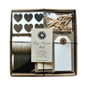 Image of Black Tag + Twine Kit