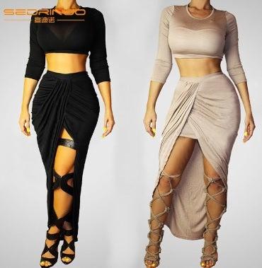 Image of Long Sleeve Bodycon Dress