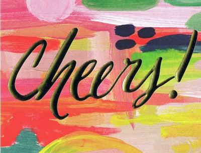 "Image of Thimblepress ""Cheers"" card"