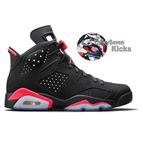 "Image of Jordan Retro 6 ""Black Infrared"" Nike.com ATC Service"