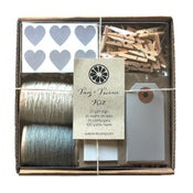 Image of Gray Tag + Twine Kit