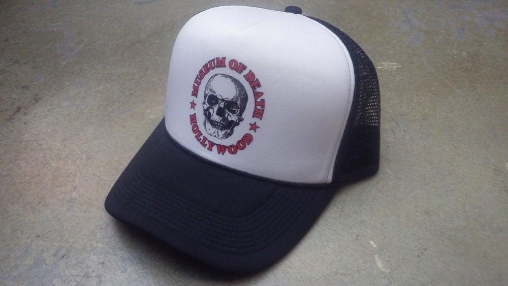 Image of M.O.D. Black & White Logo Mesh Hat