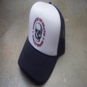 Image of M.O.D. Logo Mesh Black & White Hat