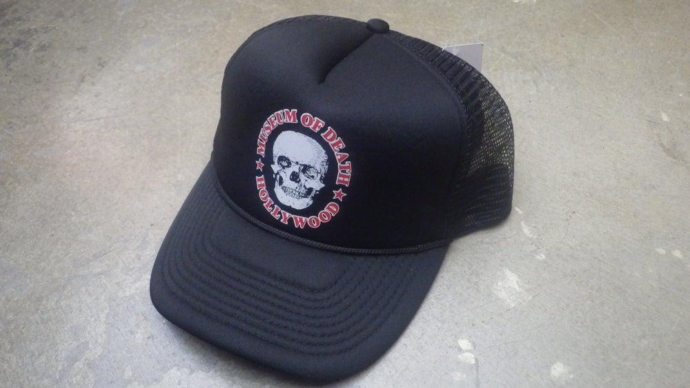 Image of M.O.D. Black Logo Mesh Hat