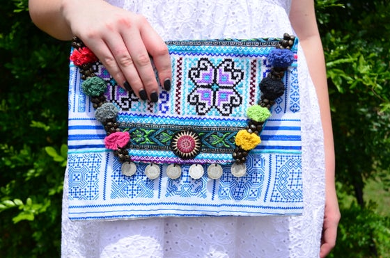 Image of Fair-trade envelope clutches