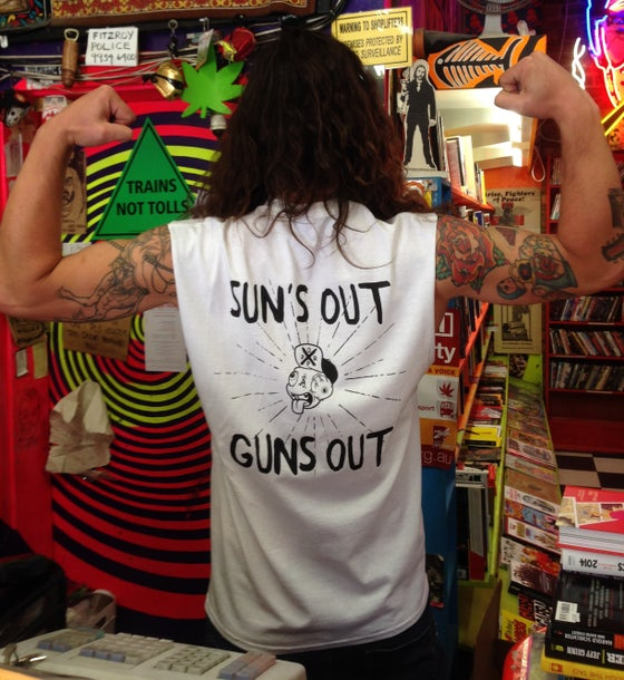 Image of Suns Out Guns Out Tee