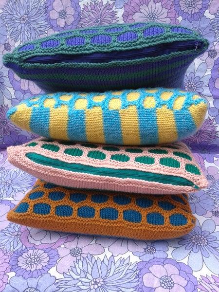 Image of 'Viaduct' cushion pattern