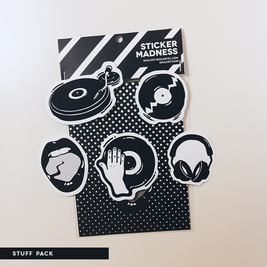Image of Sticker Packs Mixed